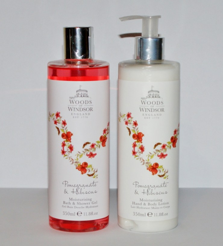 Woods of Windsor Pomegranate & Hibiscus
