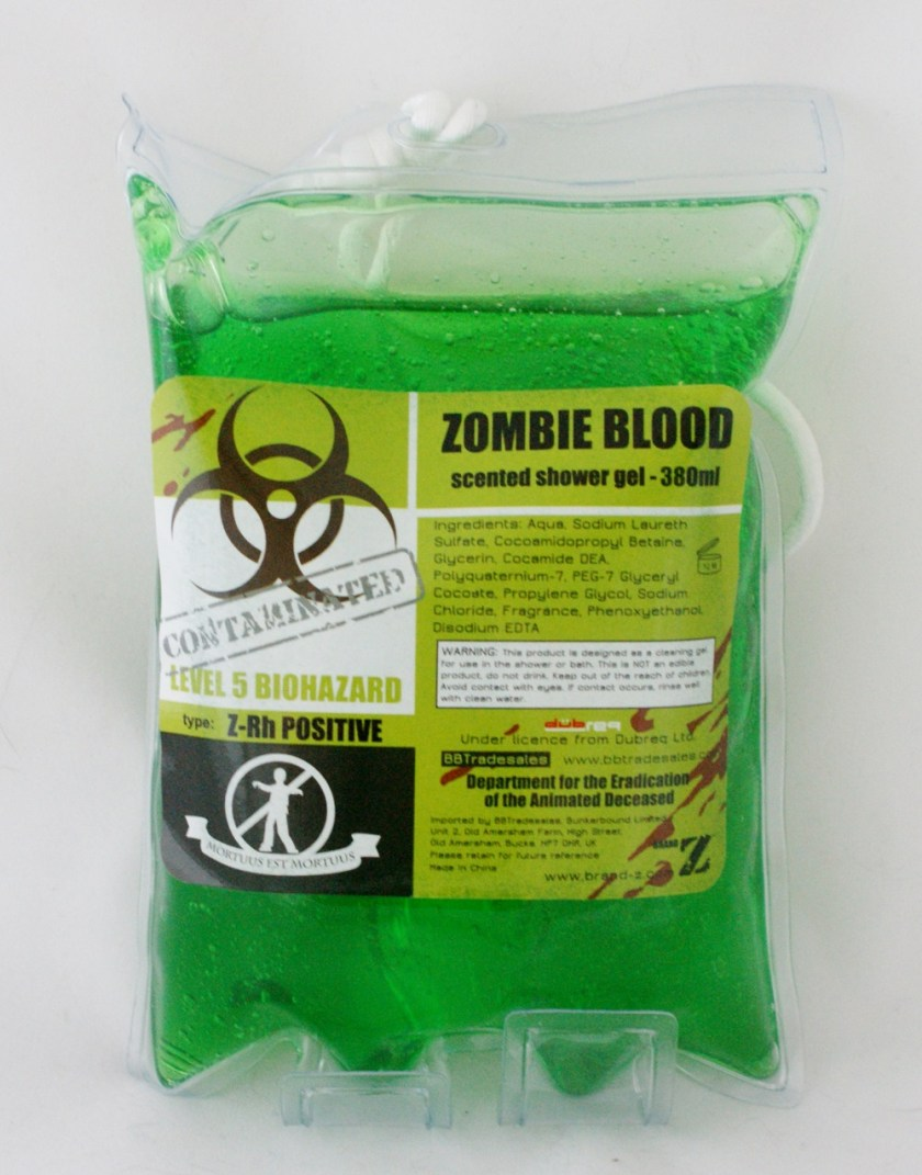 Zombie Shower Gel