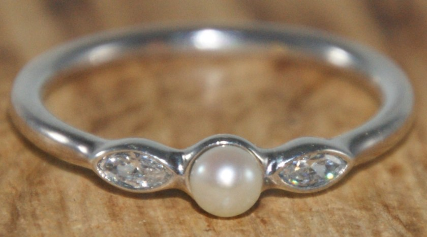 Pandora Silver Luminous Leaves Ring
