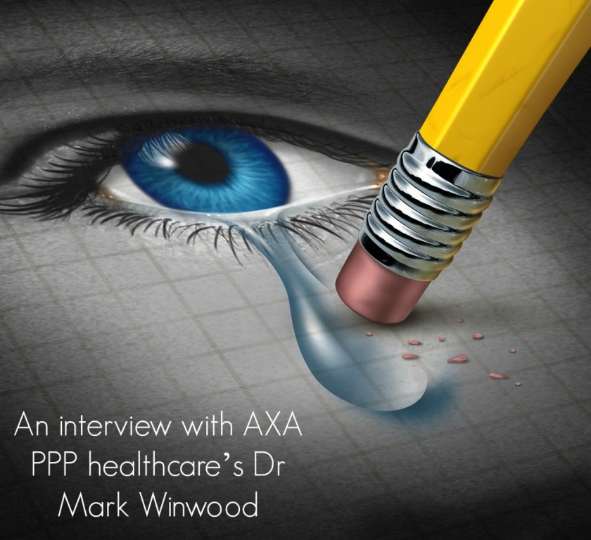 An interview with AXA PPP healthcare's Dr Mark Winwood
