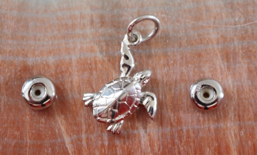 Lily Charmed Turtle Charm and Spacer Beads