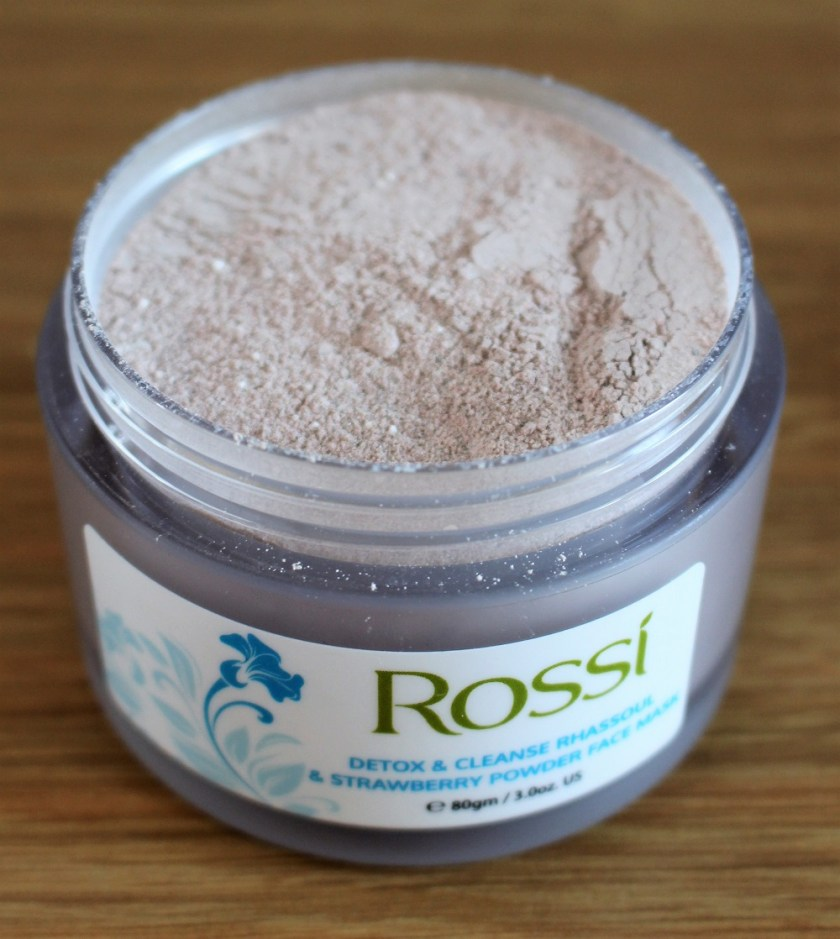 Rossi Rhassoul & Strawberry Powder Face Mask
