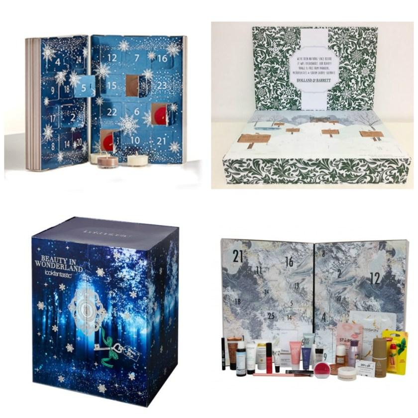 My Top 4 Advent Calendars of 2017 Partylite Holland & Barrett Lookfantastic ASOS