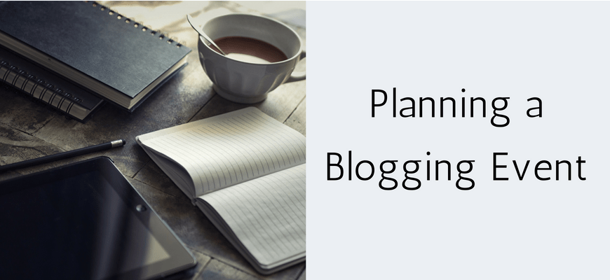 Planning a Blogging Event