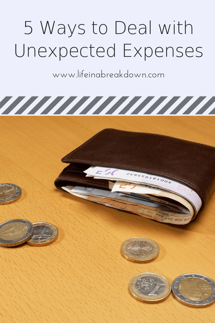 5 Ways to Deal with Unexpected Expenses