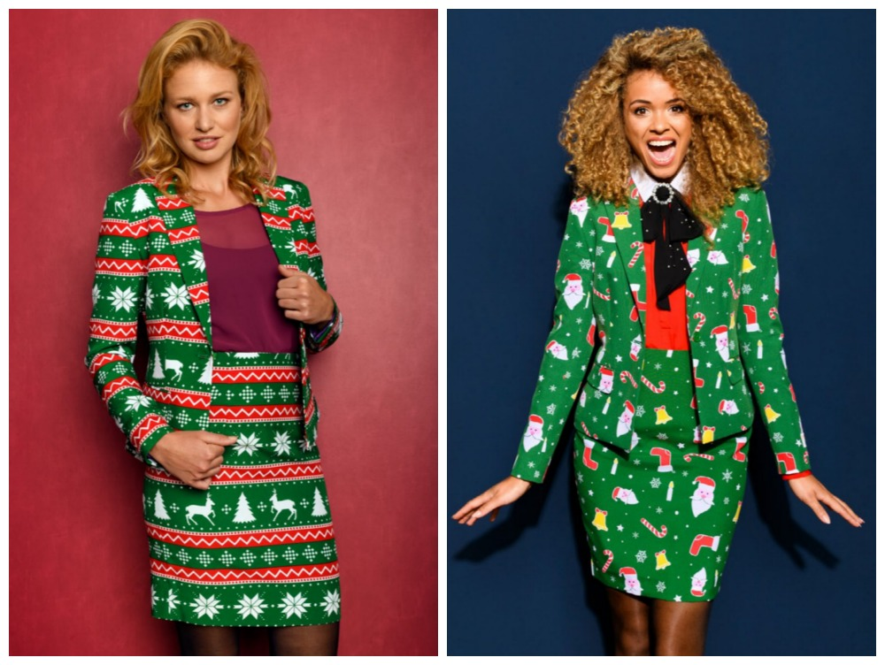 Selection of Christmas Suits for Women