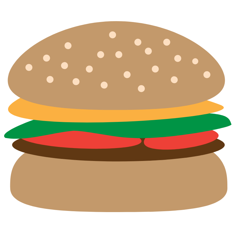 Vector of a Burger