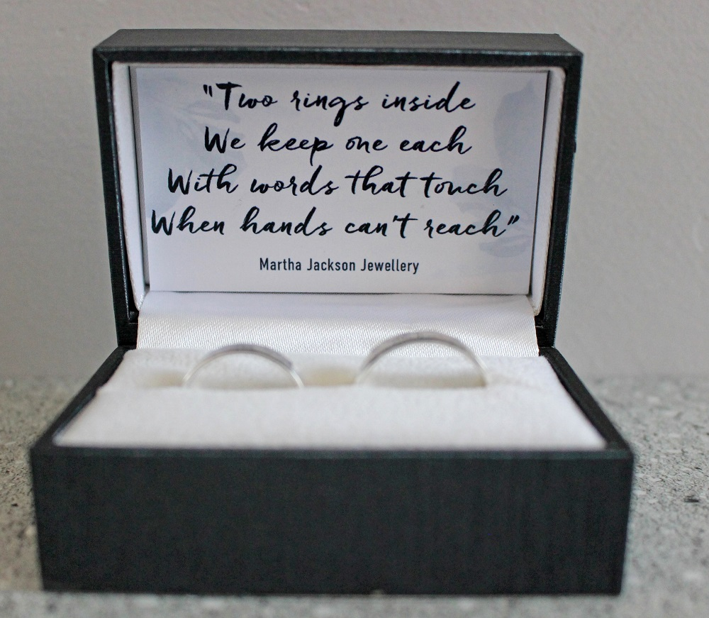 Martha Jackson Promise Rings in Sterling Silver