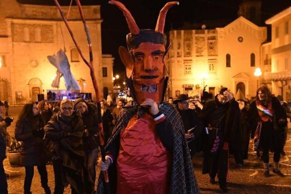 Montorio Val Vomano Morte Carnevale