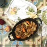 Slow Roasted Fennel with Butter, Brown Sugar and Orange