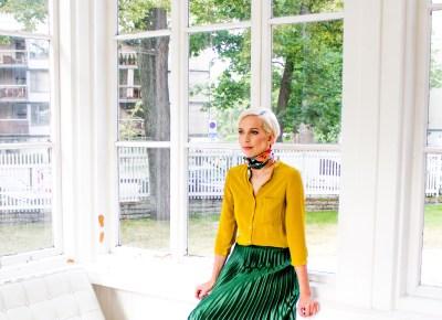 Autumn Office Outfits vol 1: Weird Colour Blocking