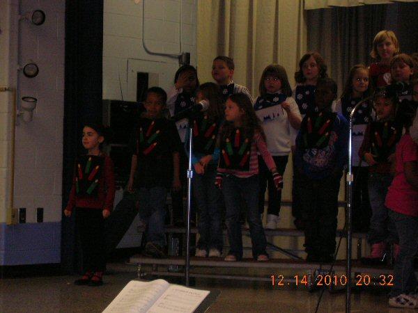 MES Winter Concert 2010
