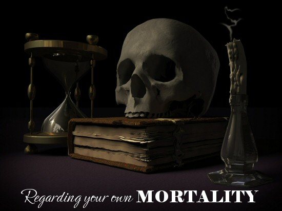 regarding your own mortality - life in a house of testosterone