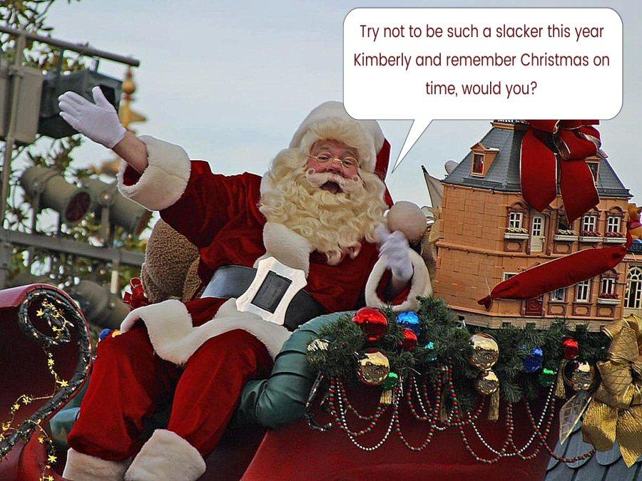 Christmas Slacker
