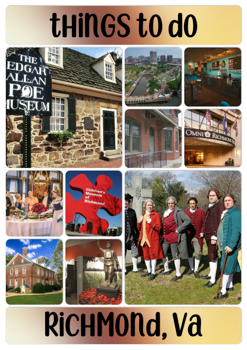 Planning a visit to Richmond, VA? Check out these must-see events and sights you won't want to miss!