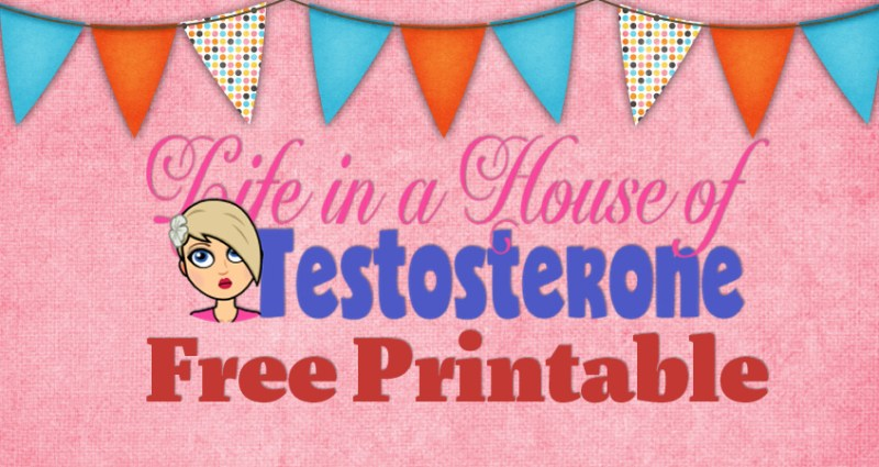 Parenting Frustrations and a Free Printable