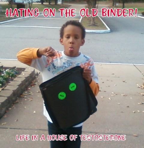 Tre Hating His Old Binder