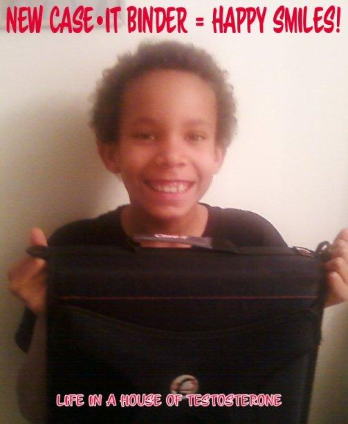New Case•It Binder = Happy Smiles!