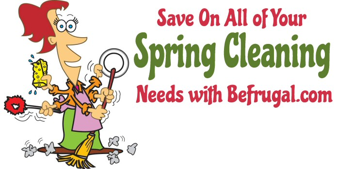 spring cleaning with befrugal
