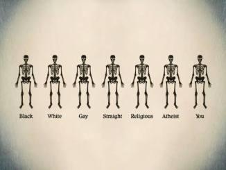 Black White Gay Straight Religious Atheist You - Underneath We Are ALL The Exact Same