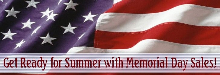 get ready for summer with memorial day sales from befrugal