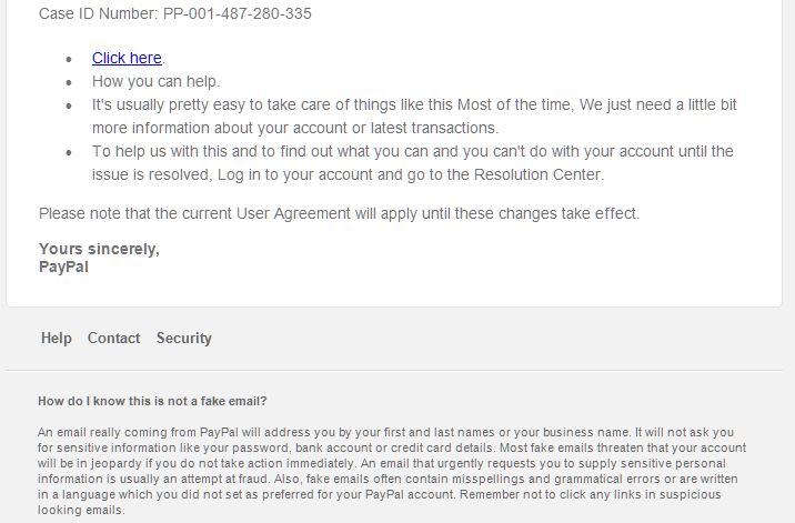 PayPal Scam Part 2