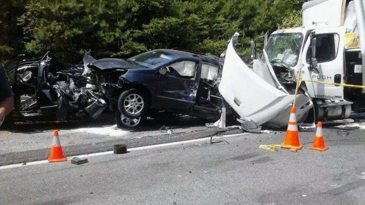 July 8, 2014 - Multiple Vehicle Accident on I64-E