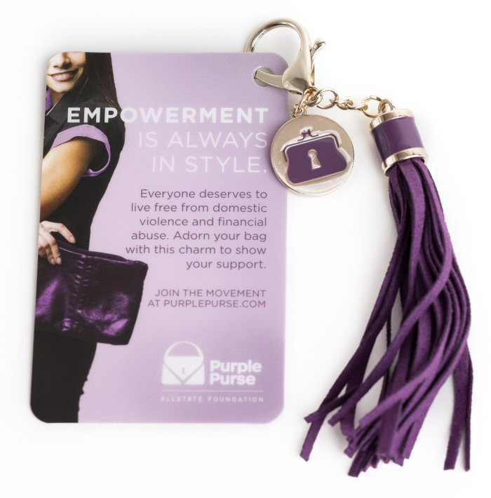 Turn Your Purse Purple - Purple Purse Campaign