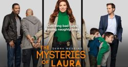 Debra Messing is Laura Diamond in Mysteries of Laura