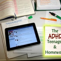 adhd teenager and homework