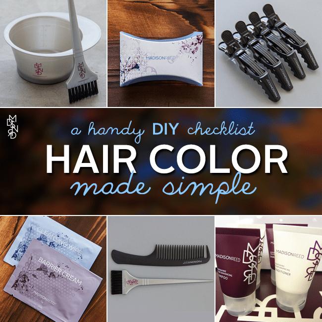 DIY Hair Color Checklist Made Simple
