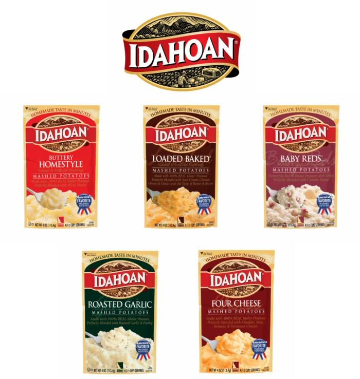 Idahoan Instant Potato Flavors