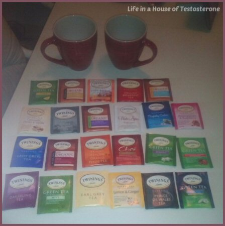 Twinings of London Tea Samples - Life in a House of Testosterone