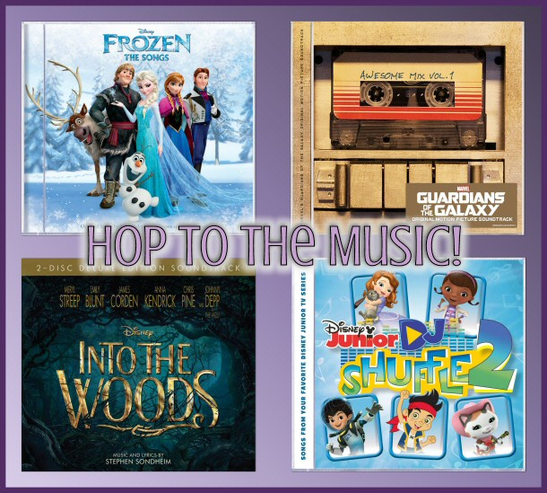 Hop to the Music 'Hoptastic' Giveaway from #DisneyMusic and #ENMNetwork