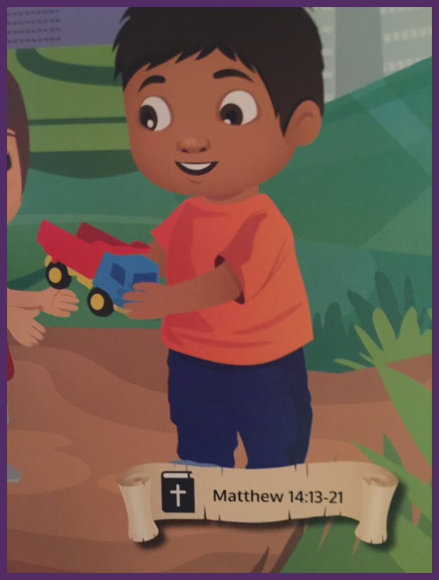 Jesus Sees Us Review - Crisp Bright Pictures with Bible Verses