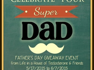 Celebrate Your Super Dad Fathers Day Giveaway - Life in a House of Testosterone