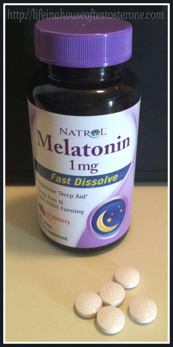 Natrol Melatonin 1mg Strawberry Flavored tablets