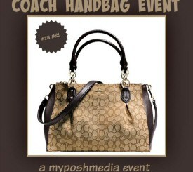 Blogger Opp: Signups End 7/29 - Coach Handbag Event from My Posh Media