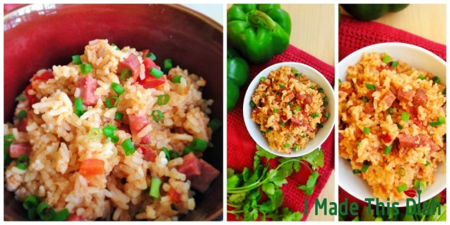 One Pot Rice Dish: Delicious Spanish Rice from I Made This Dish