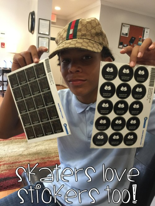 skaters love stickers too
