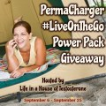 PermaCharger LiveOnTheGo Power Pack Giveaway