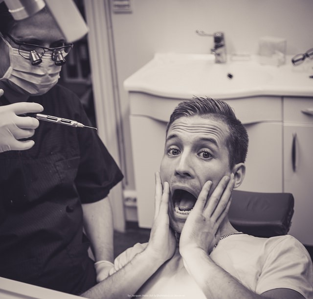 Putting On a Brave Face at the Dentist - Life in a House of Testosterone