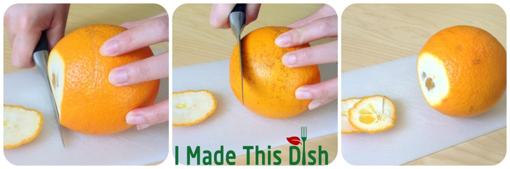 Peel an Orange in 5 Seconds with No Mess