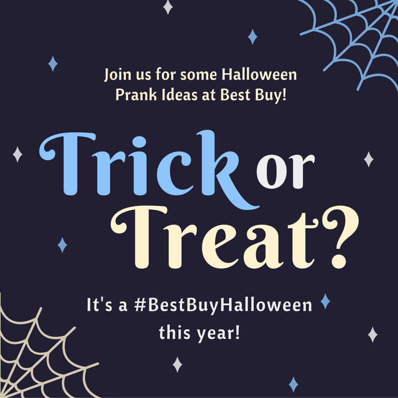 It's a #BestBuyHalloween with some great pranks from @BestBuy