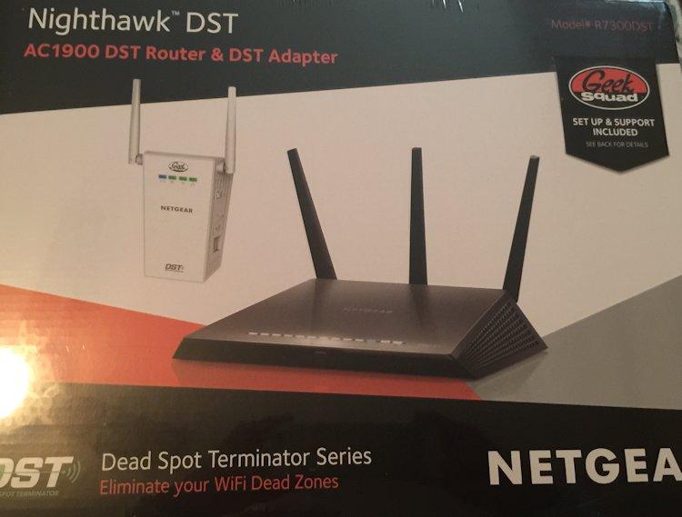 Netgear Nighthawk DST Router & Adapter