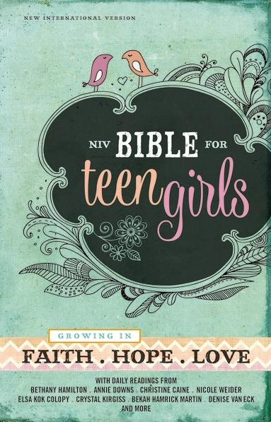 NIV Bible for Teen Girls Review and Giveaway – Ends November 9