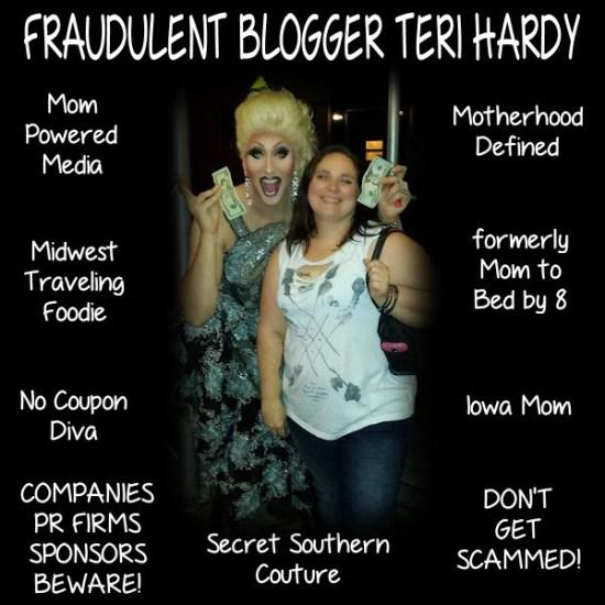 h02 - update on teri hardy fraudulent blogger