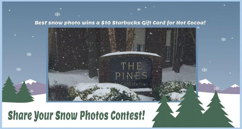 Share Your Snow Photos Contest