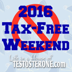 2016 Tax-Free Weekend Dates and Tips