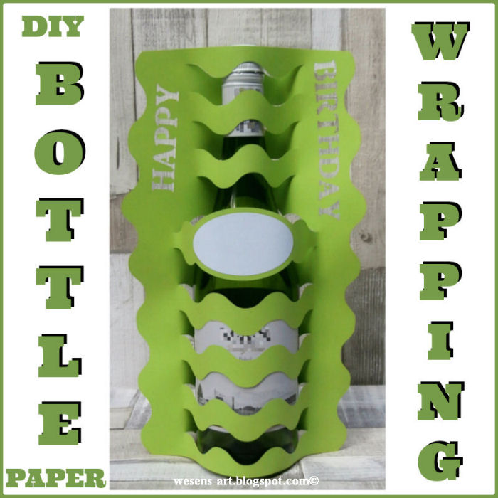 Week 85 Sunday's Best Featured Post DIY Bottle Wrapping from Wesens Art